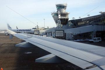 Vantaa  Finnland  Terminal des Helsinki Airport