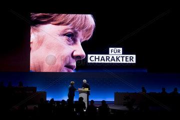 Angela Merkel  CDU-Parteitag