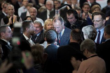 Friedrich Merz  Jens Spahn  CDU-Parteitag