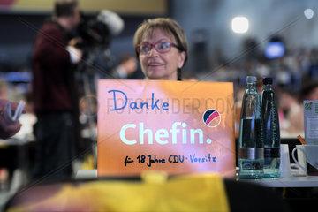 Danke Angela Merkel  CDU-Parteitag