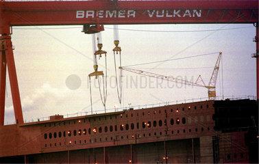 ehemalige Stammwerft der Bremer Vulkan GmbH  Deutschland