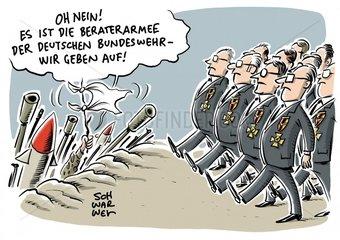 Bundeswehr Untersuchungsausschuss zu Berateraffaere