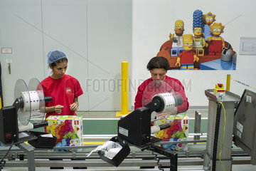 LEGO Fabrik in Nyiregyhaza (Ungarn)