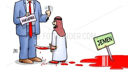 Trump-Khashoggi-Jemen