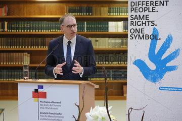 Verleihung des des deutsch-franzoesischen Preises fuer Menschenrechte und Rechtsstaatlichkeit  Auswaertiges Amt