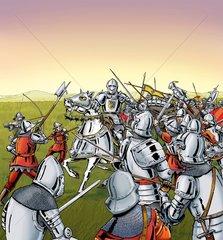 Kampfgeschehen 1 - Serie Mittelalter