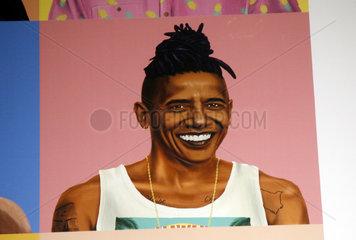 Hipster Barack Obama
