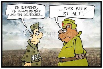 NATO-Uebung in Norwegen