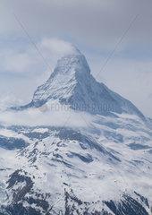 SWITZERLAND-ZERMATT-MATTERHORN