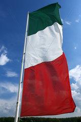 Hoppegarten  Deutschland  Nationalfahne von Italien