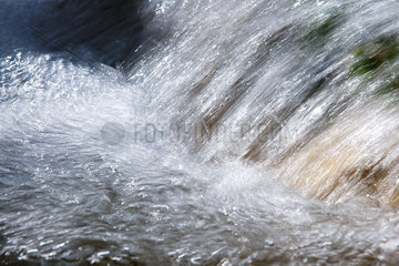 Close-up of flowing  splashing water
