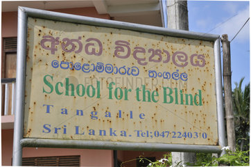 Sri Lanka: Blindenschule in Tangalle