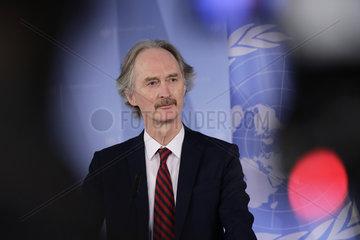 Auswaertiges Amt - Treffen Maas Pedersen