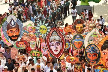 BANGLADESH-DHAKA-BENGALI NEW YEAR