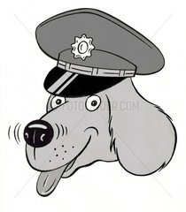 Polizeihund - Serie Symbole