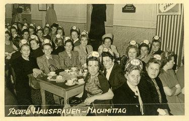 Rewe Hausfrauen-Nachmittag  Dortmund  1951