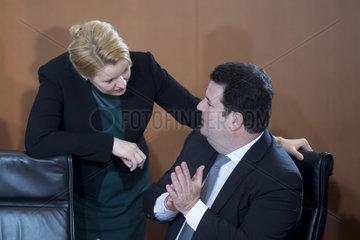 Franziska Giffey  Hubertus Heil  Kabinett