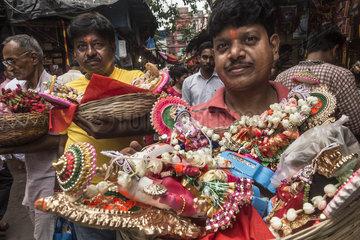INDIA-KOLKATA-BENGALI NEW YEAR-RITUALS