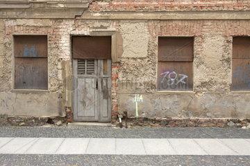 Leerstehendes Gebaeude in Frankfurt (Oder)