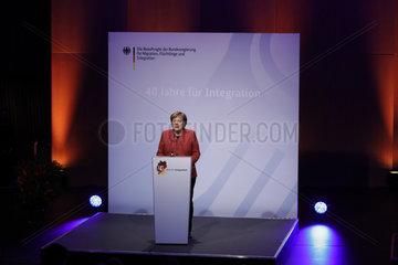 Festakt 40 Jahre fuer Integration   Haus der Kulturen der Welt  12. Dezember 2018