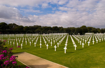 American Military Cemetery in Tunis Tunisia Africa where WWII heros rest