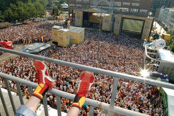 WM 2006  Dortmund Friedensplatz