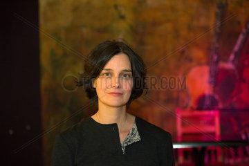 Polen  Poznan - Die ukrainisch-deutsche Journalistin und Schriftstellerin Katja Petrowskaja  Traegerin des Ingeborg-Bachmann-Preises 2013