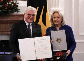 Verleihung des Verdienstordens durch den Bundespraesidenten  Schloss Bellevue  13. Dezember 2018