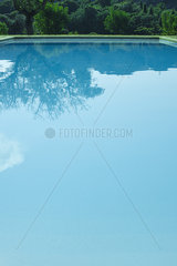 Tranquil swimming pool