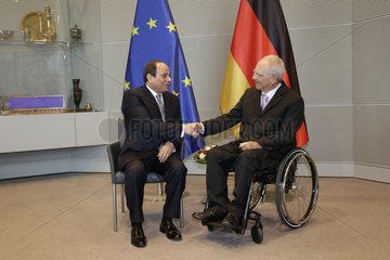 Reichstag - Treffen Schaeuble El Asisi