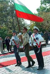 Ehrenformation der Bulgarischen Armee bei einer Feierlichkeit  Sofia