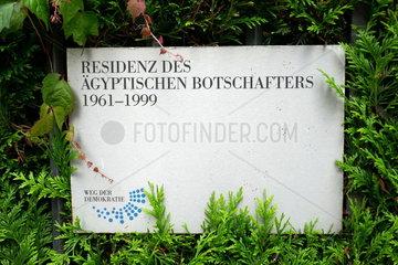 Ehemalige Aegyptische Botschaft in Bonn