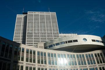 Tokio  Japan  Tokyo Metropolitan Assembly Building im Stadtbezirk Shinjuku
