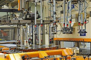 Deutschland  Nordrhein-Westfalen - Thyssen Krupp Tailored Blanks GmbH in Duisburg