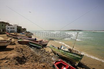 Fischerhafen  Sal Rei  Boa Vista  Kapverden