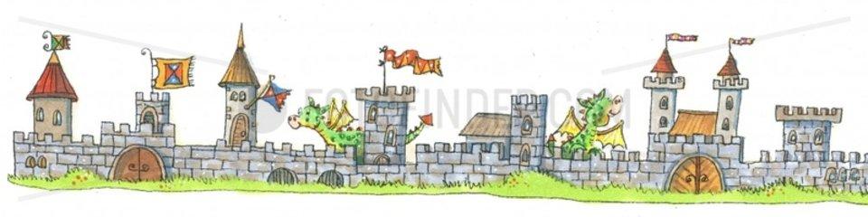 Serie Ritter Burganlage