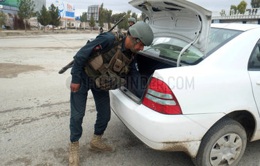 AFGHANISTAN-KANDAHAR-SECURITY