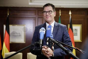 Unterzeichnung von Vereinbarungen Marokko und Senegal