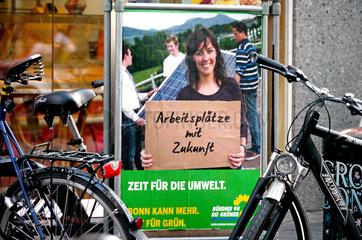 Gruene im Kommunalwahlkampf NRW 2009
