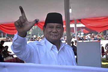 INDONESIA-BOGOR-ELECTION-VOTE