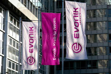 Firmenzentrale von EVONIK