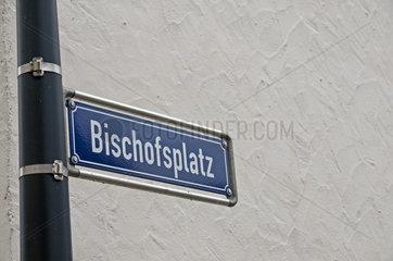 Der Bischofsplatz in Limburg