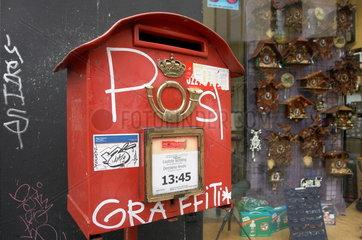 Briefkasten der belgischen Post