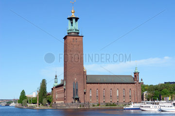 Rathaus in Stockholm  Schweden
