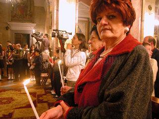 Katholischer Ostergottesdienst in Jerusalem