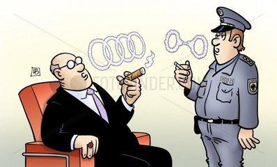 Audi-Razzia