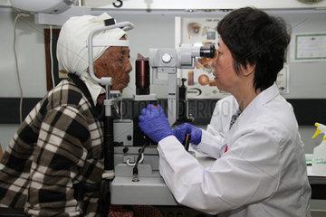 NAMIBIA-WINDHOEK-CHINESE DOCTORS-BRIGHTNESS ACTION