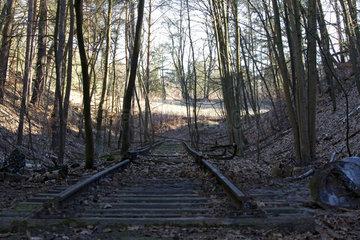 stillgelegte S-Bahnstrecke