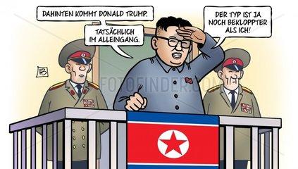 Trump und Nordkorea