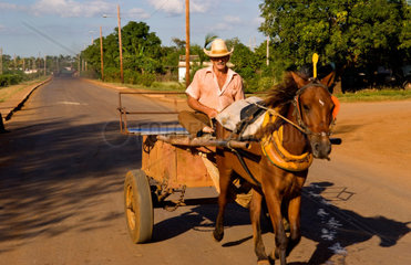 Water hole to wash horses and oxen near Cienfuegos Cuba
